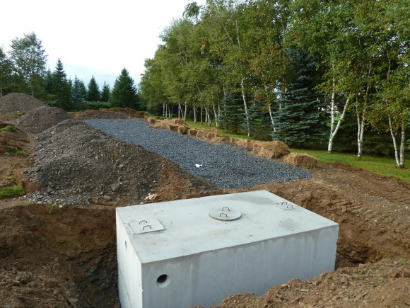 Quadomated 187 Concrete Forms Radiant Heat And Septic Tank