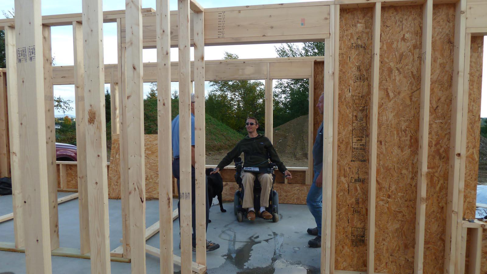Quadomated 187 Interior Wall Framing Garage Radiant Heat Tubing