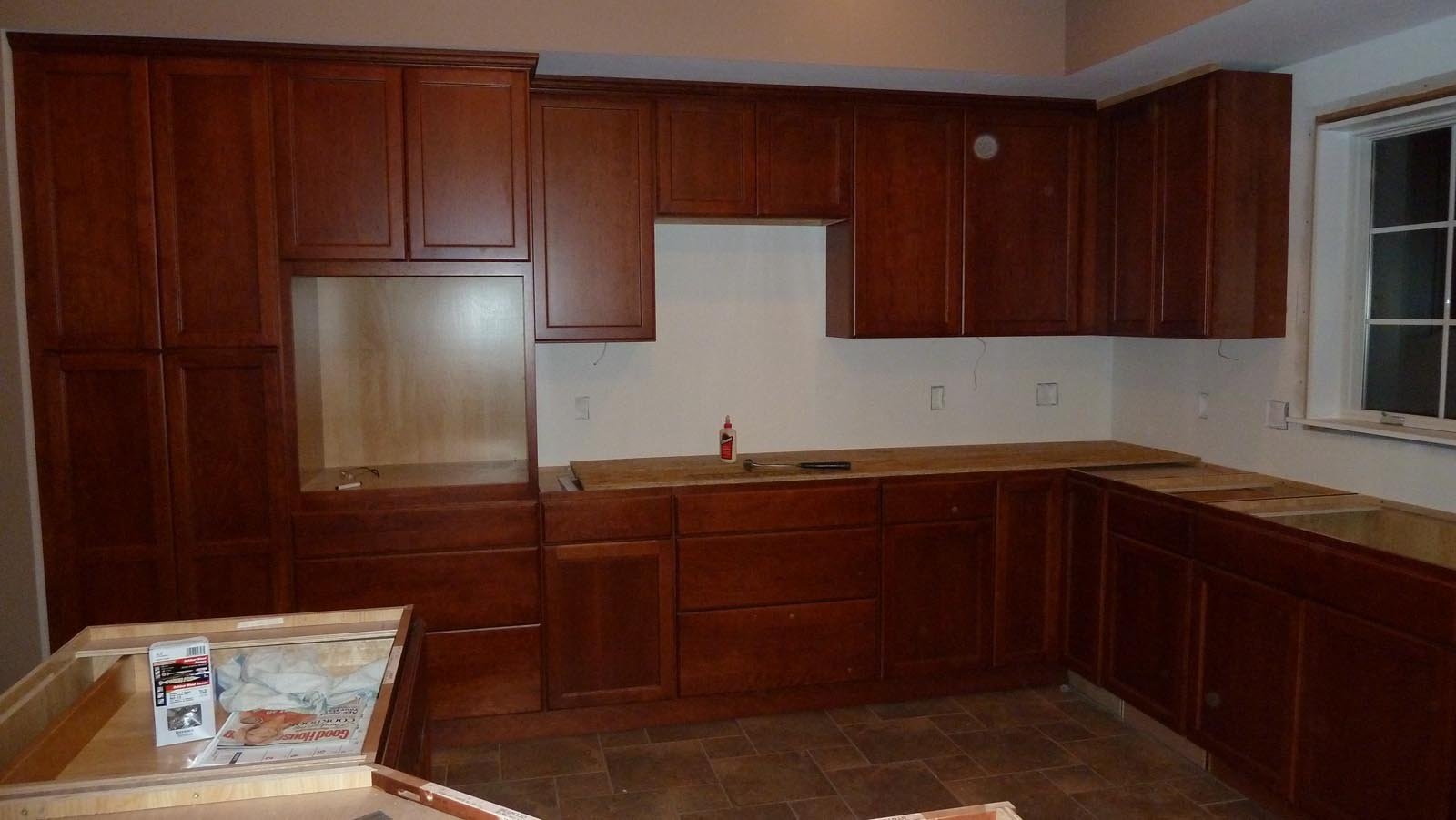 Kitchen Cabinets Installed Tequila Line Paint And Much