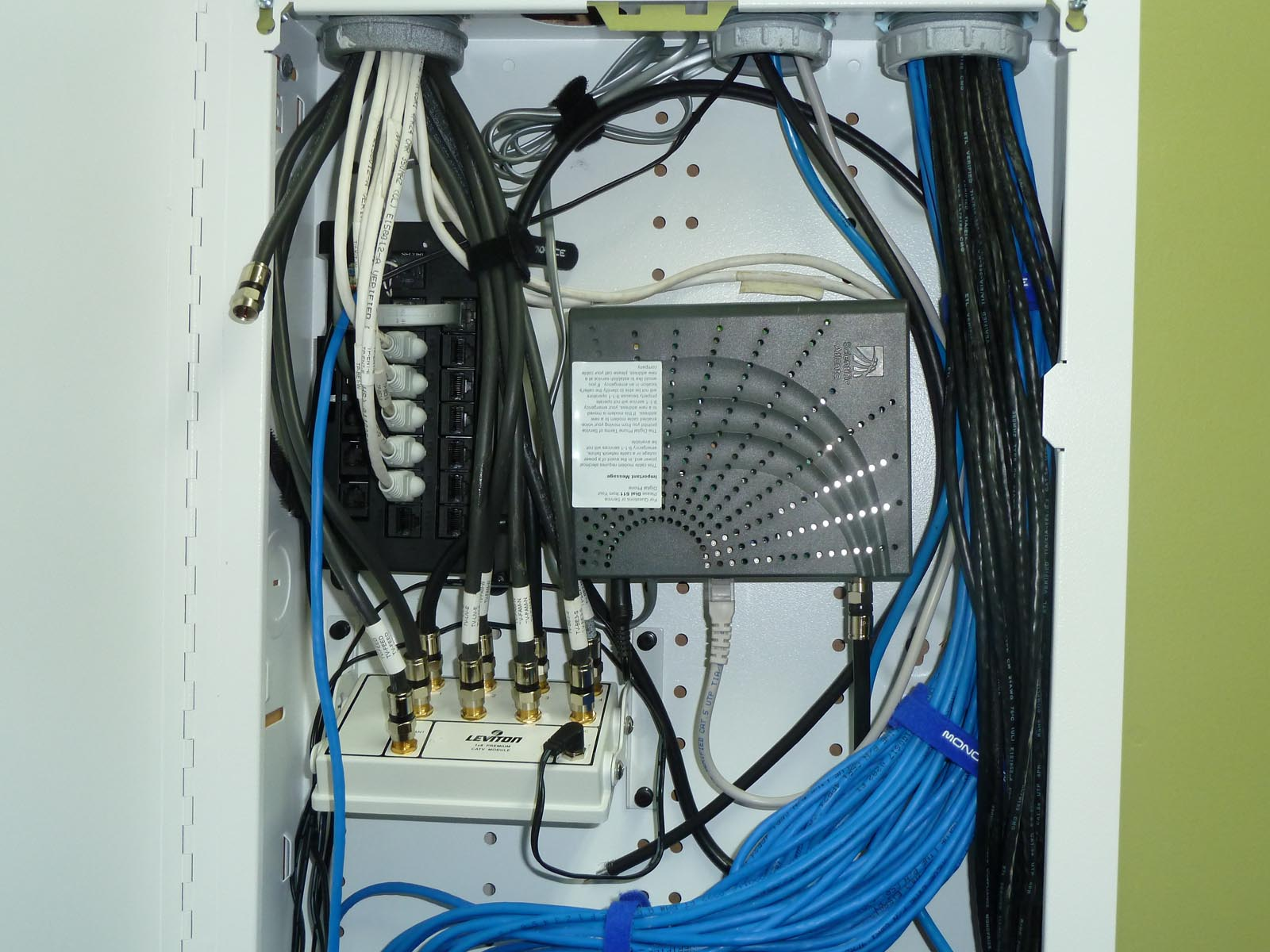 Stupendous Quadomated Coax Network Phone Distribution Wiring 101 Cranwise Assnl