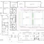 Presque Isle Community Center - Building Design Concept Architectural Layout