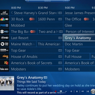 Windows Media Center - TV Guide