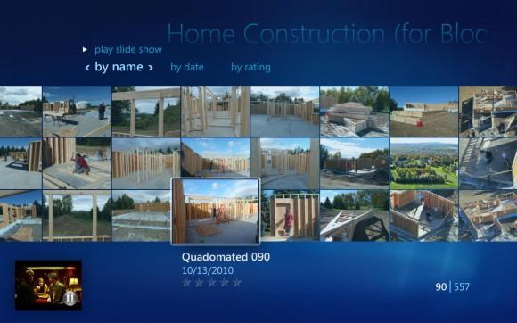 Windows Media Center - Photo Gallery
