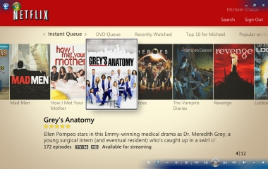 Windows Media Center - Netflix Streaming